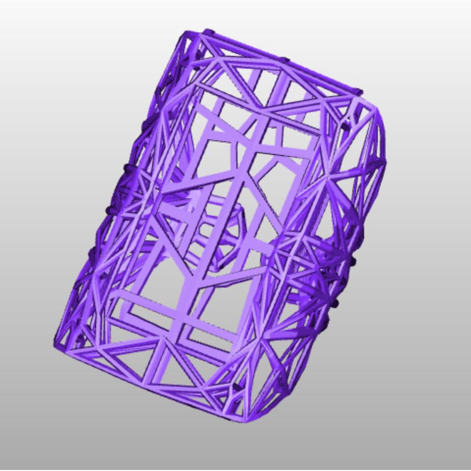 Brassard manchette imprimante 3d imprimee en 3d impression 3d cults 3d printing fichier 3d