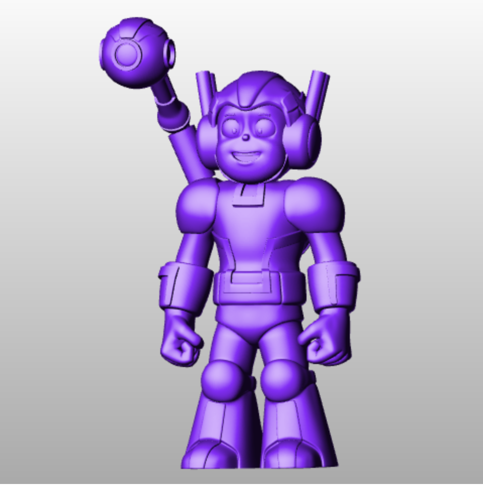 Super hero imprimante 3d imprimee en 3d impression 3d cults 3d printing fichier 3d model